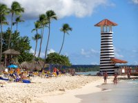 Light House on the Dominicus Beach, Dominican Republic
