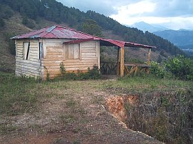 Bungalow on the land for building