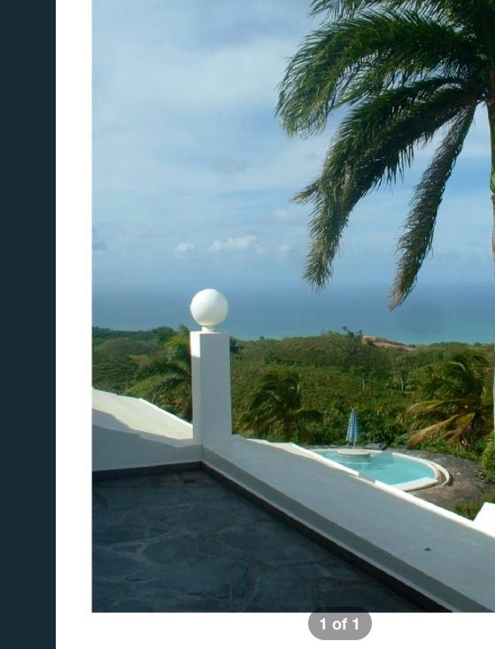 Villa duarte dominikanische republik