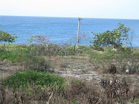 Building lot. Property with sea view 30 Km from Santo Domingo