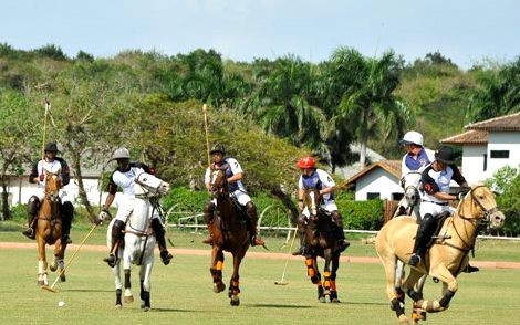 Playing Polo in Casa de Campo
